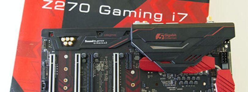 ASRock Fatal1ty Z270 Professional Gaming i7 Análisis