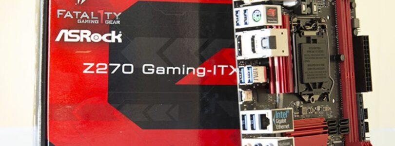 ASRock Fatal1ty Z270 Professional Gaming-ITX/AC Análisis