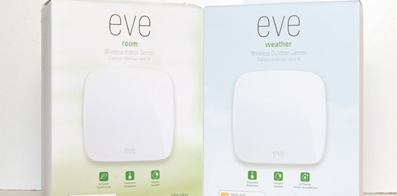 Elgato Eve Weather y Eve Room
