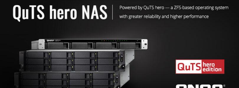 NP: QNAP presenta la Gama NAS Enterprise QuTS hero