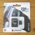 Kingston microSD Canvas Select Plus 256GB