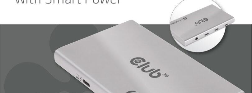 Club 3D presenta un HUB Thunderbolt™ 4